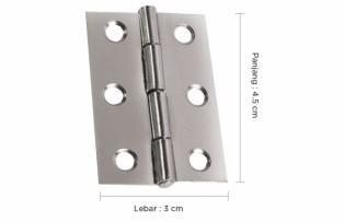 Cara Memasang atau Mengganti Engsel Pintu