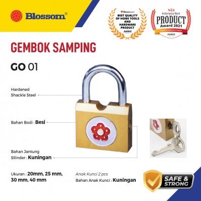 GEMBOK KECIL SAMPING BESI BLOSSOM