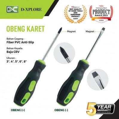 OBENG KARET D-XPLORE