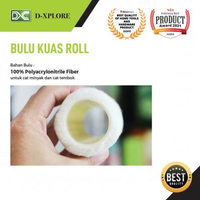 BULU KUAS ROLL D-XPLORE