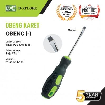 OBENG KARET D-XPLORE (-) Minus