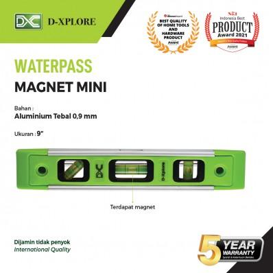 WATERPASS MAGNET ALUMINIUM MINI D-XPLORE