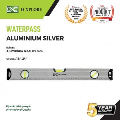 WATERPASS ALUMINIUM SILVER D-XPLORE
