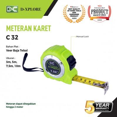METERAN KARET C32 (Manual Lock) D-XPLORE