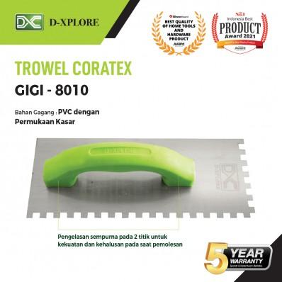 CETOK SEMEN TROWEL CORATEX GIGI D-XPLORE