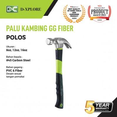 PALU KAMBING POLOS GAGANG PVC D-XPLORE