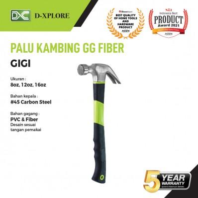 PALU KAMBING GIGI GAGANG PVC D-XPLORE