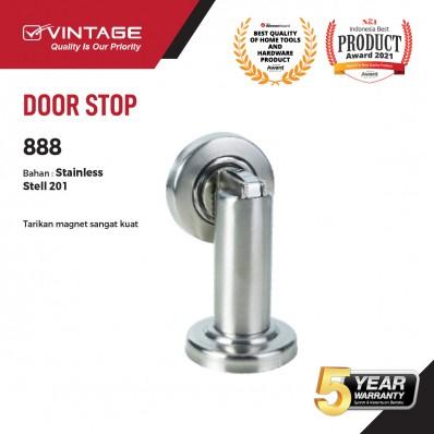 DOOR STOP / PENAHAN PINTU STAINLESS STEEL 888 VINTAGE