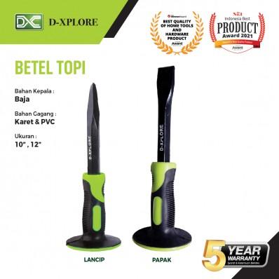 BETEL TOPI / PAHAT BETON BENTUK PAPAK D-XPLORE