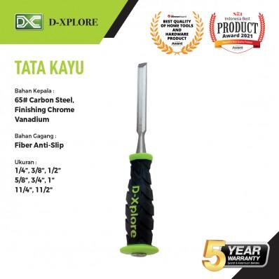 TATA KAYU / PAHAT KAYU GAGANG FIBER D-XPLORE