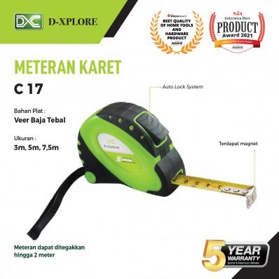 METERAN KARET C17 D-XPLORE