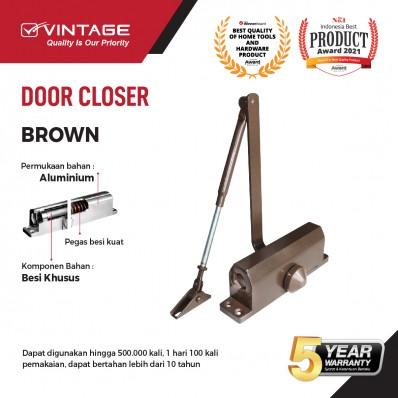 DOOR CLOSER / PENUTUP PINTU OTOMATIS BROWN VINTAGE