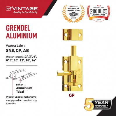 GRENDEL ALUMINIUM GOLD VINTAGE