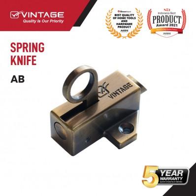 SPRING KNIFE / SLOT JENDELA ANTIK VINTAGE